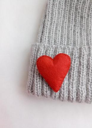 Брошь сердце, брошка серце!1