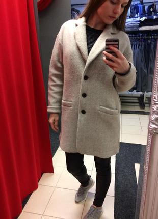 Пальто oversize италийского бренда deha (1d)