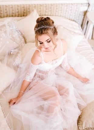 Будуарное платье/утро невесты