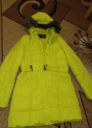Салатовая курточка