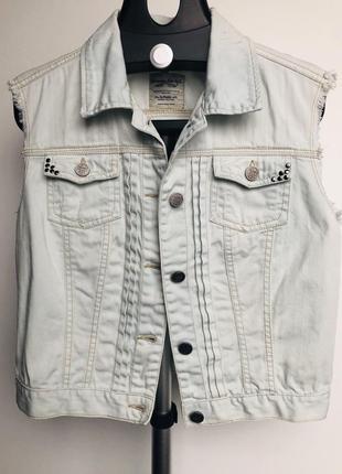 Джинсовая куртка pinkie