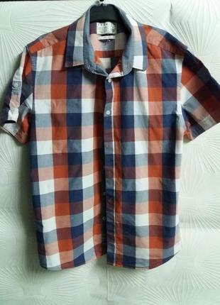 Красивая рубашка jack&jones