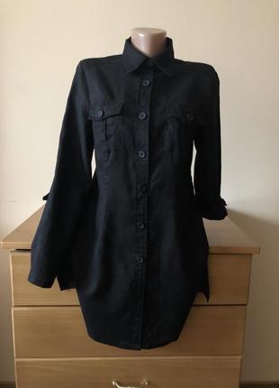 Льняная рубашка 100% лён biaggini