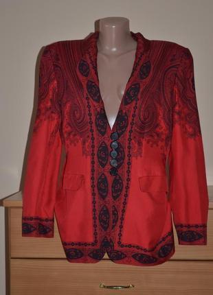 Шелковый жакет пиджак renzo