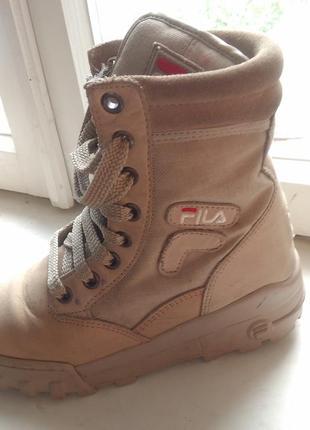 """Оригінальні черевики (ботинки) """" fila """""""