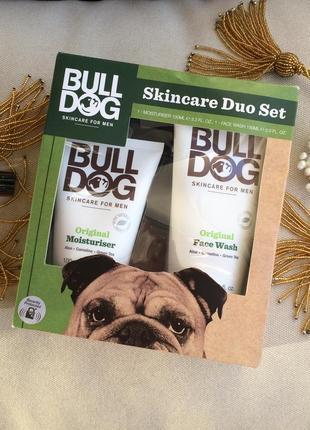 Набор муж bulldog skincare англия натур экологичная косметика (гель д/умыв и крем д/лица)