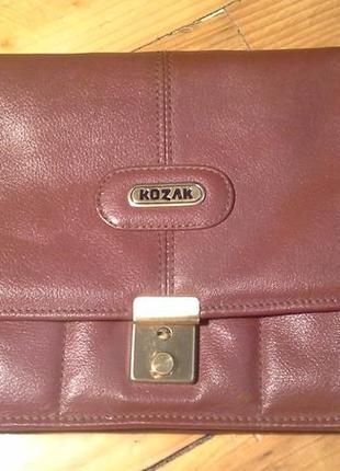 Класна шкіряна сумочка
