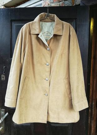 Куртка плащ демисезонная летняя avitano collection by goldix песочная