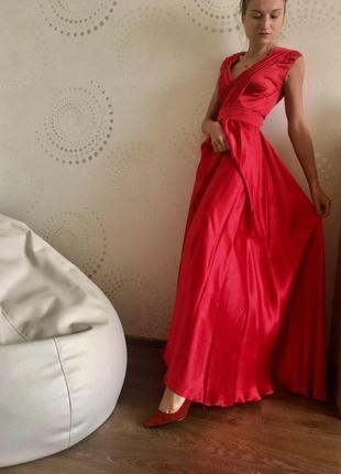 Выпускное вечернее платье макси