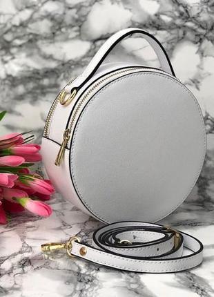 Модная сумочка в форме круга