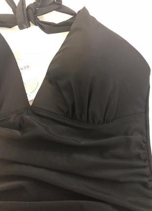 Стильный чёрный купальник  benotti4 фото