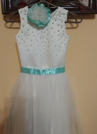 Плаття на дівчинку принцесу.