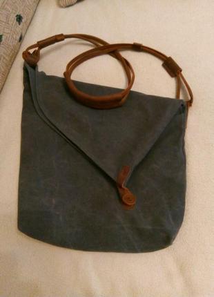 Классная мужская сумка через плечо