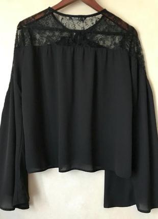 Only - кружевной топ с длинным рукавом - женская футболка с длинным рукавом
