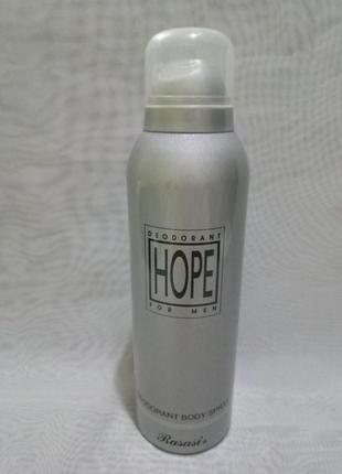 Hope rasasi мужской парфюмированный дезодорант
