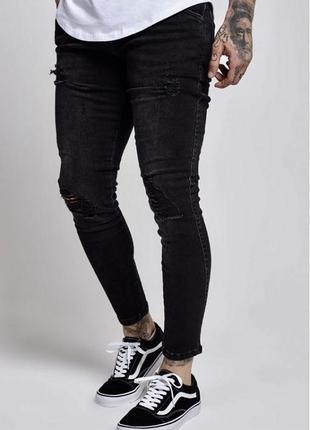 Супер узкие мужские джинсы , скинни , узкачи