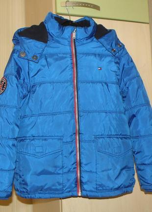 Зимняя куртка tommy hilfiger на мальчика, оригинал