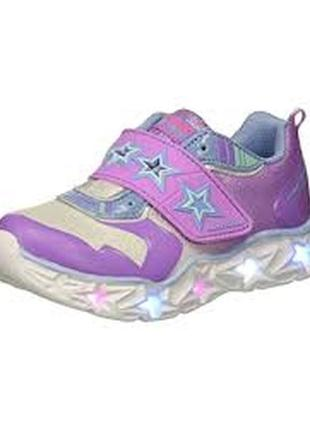 Суперские кроссовки skechers с светодиодами.