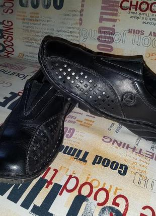 Срочно. туфли макасины кожаные j.seibel