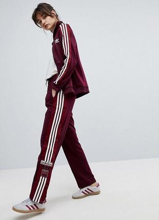 Новые спортивные штаны adidas adibreak с лампасами и заклёпками