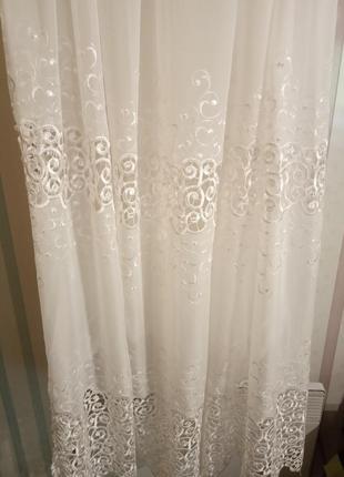 Тюль штора занавеска2