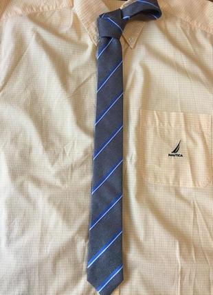 "Классный мужской галстук ""boss "" italy"