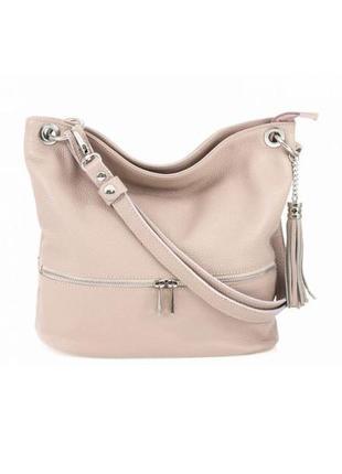 Кожаная пудровая сумка joss италия разные цвета