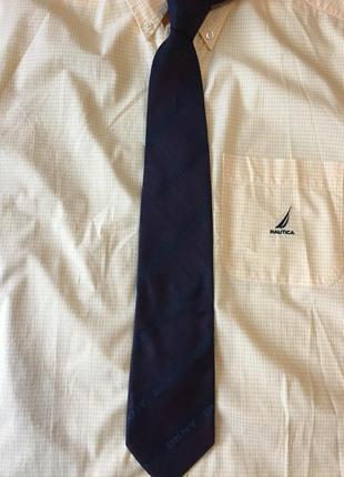 "Классный мужской галстук ""dkny "" italy"
