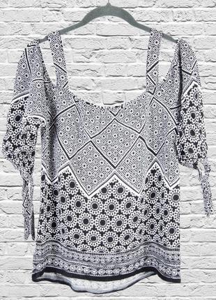 Серая блуза с опущенными плечами, летняя блуза с открытыми плечами2 фото