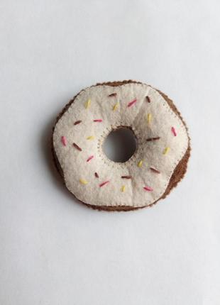 Брошь пончик, брошка пончик!