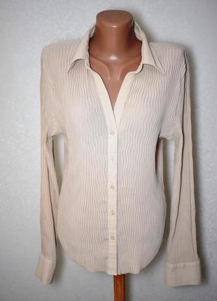 Шикарная блуза рубашка marks&spencer, m-l