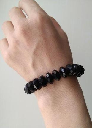 Черный браслет сша