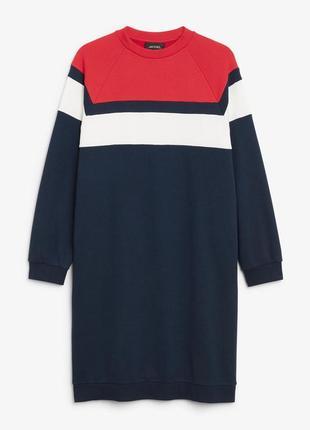 Платье свитшот monki