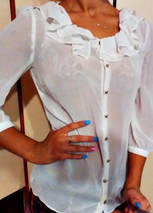 Блуза белая atmosphere белая