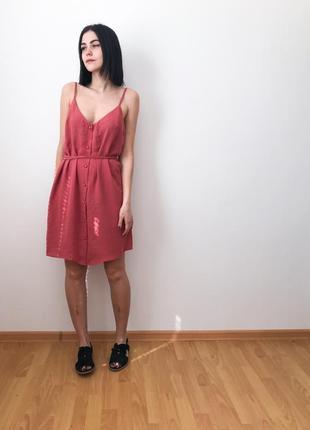 Платье легкое, на пуговках от primark
