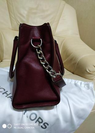 Роскошная сумка michael kors. оригинал5 фото