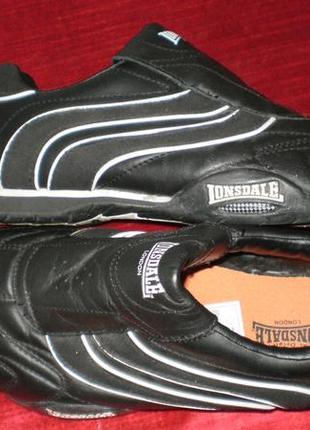 Кожаные кроссовки lonsdale (лонсдейл) 38р. стелька 24см.3