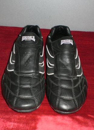 Кожаные кроссовки lonsdale (лонсдейл) 38р. стелька 24см.