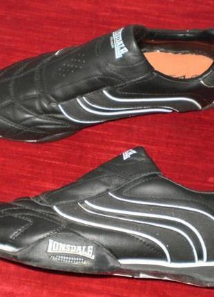 Кожаные кроссовки lonsdale (лонсдейл) 38р. стелька 24см.6
