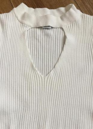 Белая кофта5 фото