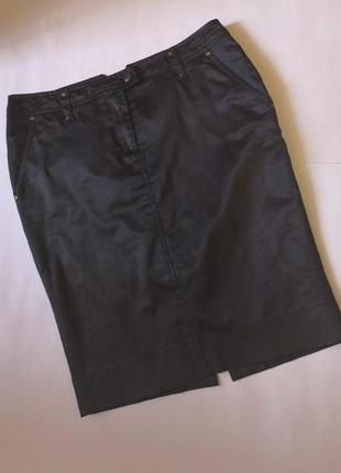 Стильная юбка с карманами, размер 42