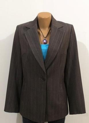 Стильный пиджак жакет от h&mразмер: 48-l