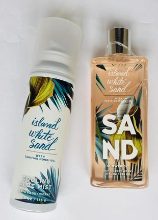 "Набор: гель масло для душа и спрей для тела ""island white sand"", сша"