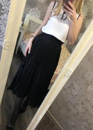 Плиссированая юбка