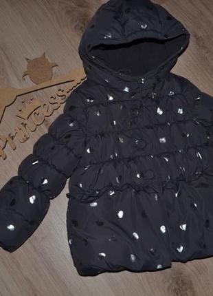 Курточка моднице зима еврозима benetton 3-4г сост идеал