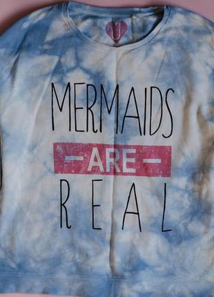 Свитшот mermaids are real