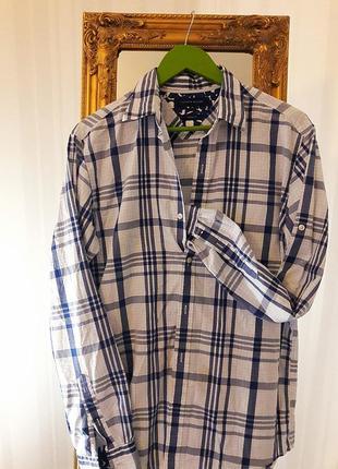 Легкая рубашка с универсальным рукавом# tommy hilfiger #  оригинал