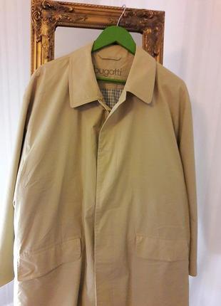 Легкая курточка/укороченный плащ# bugatti# оригинал