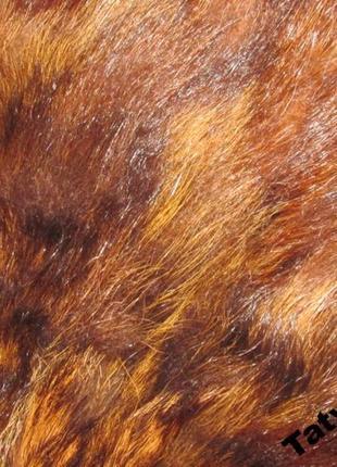 Натуральный мех енота для рукоделия-2 рукава7