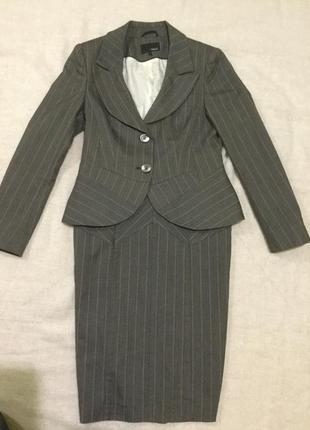 Деловой офисный костюм next,качество!